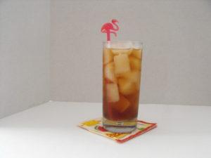 Peach Rum Shrub